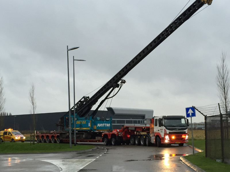 Stuij Transport Begeleiding | Exceptioneel transport